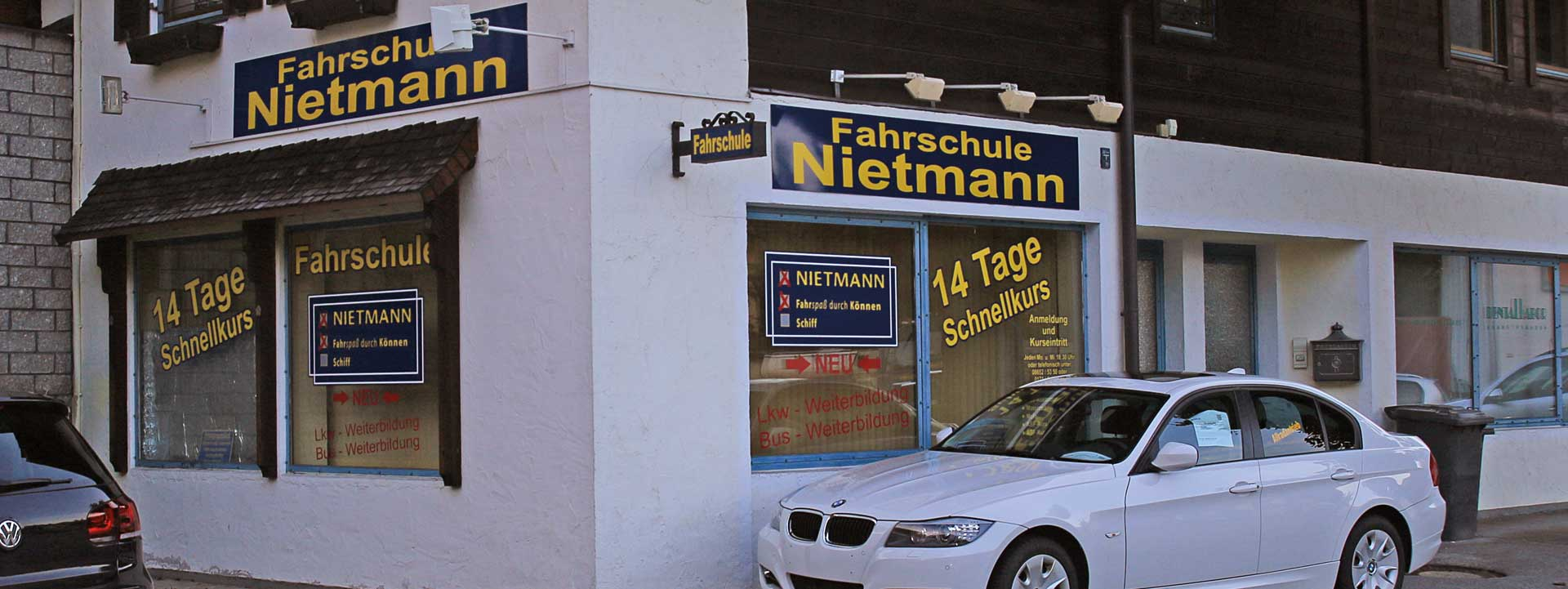 Die Fahrschule Berchtesgaden am Buchwinklerparkplatz